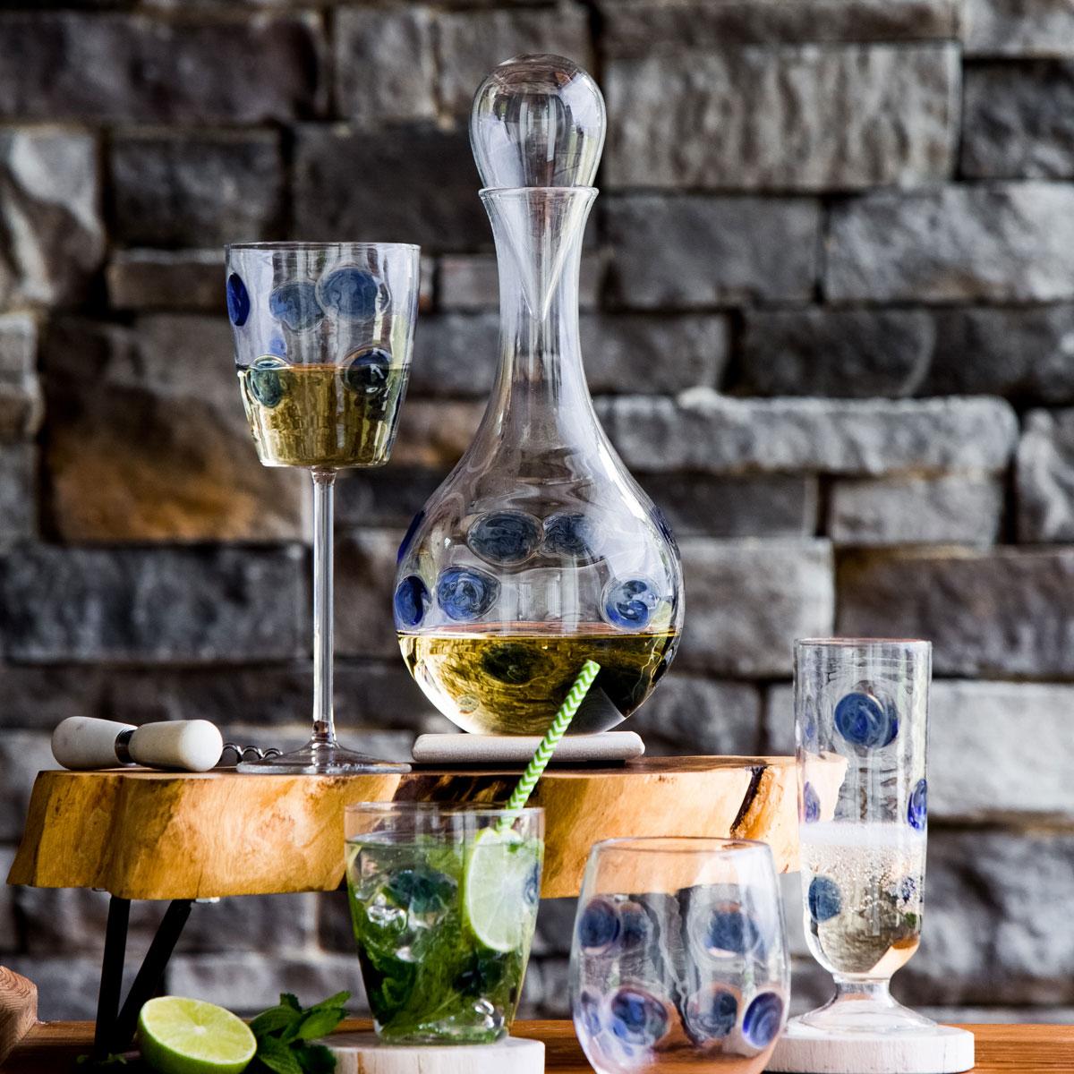Vietri Drop Glass